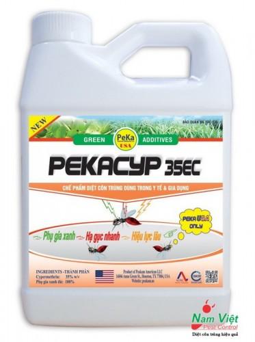 PEKACYP 35EC - Thuốc phun muỗi, hóa chất diệt muỗi, diệt côn trùng hiệu quả cao