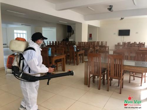 Dịch vụ phun thuốc khử trùng corona cho nhà máy tại HCM, Long An, Bình Dương, Tây Ninh, Đồng Nai, Vũng Tàu...