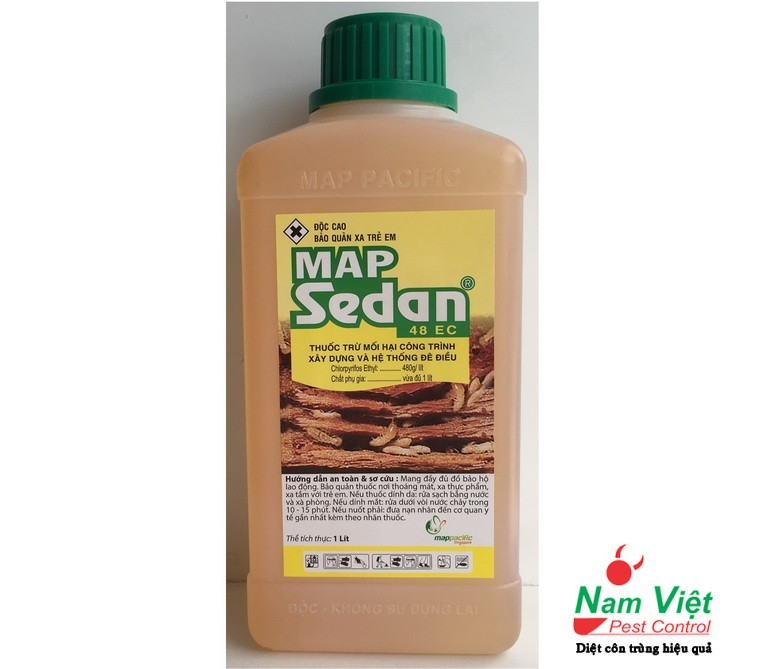 Thuốc diệt mối Map Sedan 48EC của MAP PACIFIC